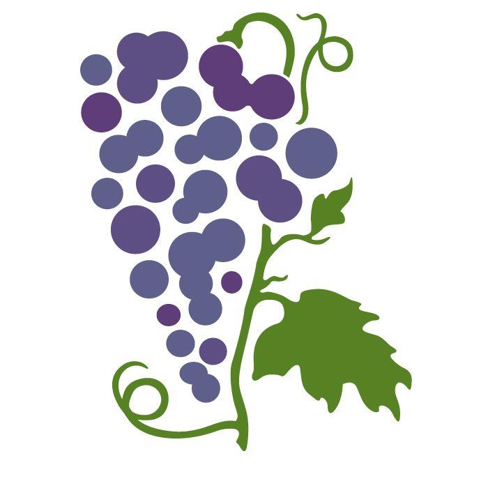 700x700 Grapes Svg, Botanical Svg, Rose Svg, Pansy, Herbs, Garden, Home