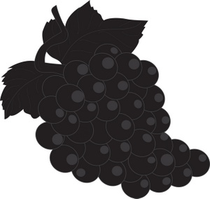 300x285 Free Grapes Clipart Image 0071 0807 1816 2421 Food Clipart