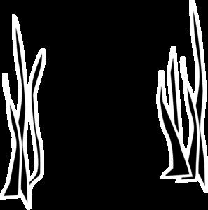 297x300 Black Grass Clip Art