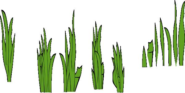 600x303 Grass Blades And Clumps Clip Art Free Vector 4vector