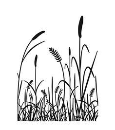 236x267 Grass Vector Black Silhuette Vector Art, Art Illustrations