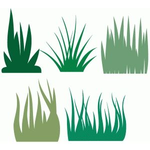 300x300 Grass Collection Silhouette Design, Silhouettes And Cricut