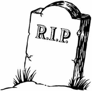 300x295 Headstone Clipart Gravestone