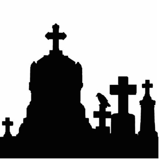 512x512 Graveyard Silhouette