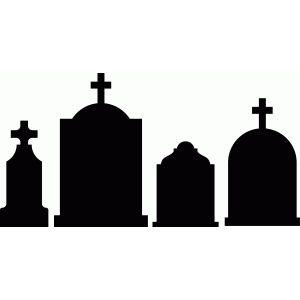 300x300 Halloween Tombstones Halloween Tombstones, Silhouette Design