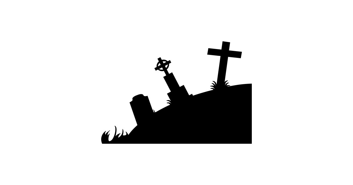 1200x630 Limited Edition. Exclusive Graveyard Silhouette