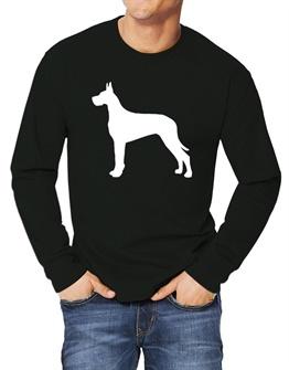 262x335 Funny Great Dane Long Sleeve T Shirts Idakoos