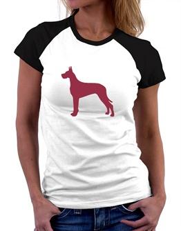 262x335 Funny Great Dane Women's Raglan T Shirts Idakoos