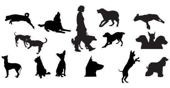 568x294 Great Dane Dog Silhouette Art Print By Ialbert Society6