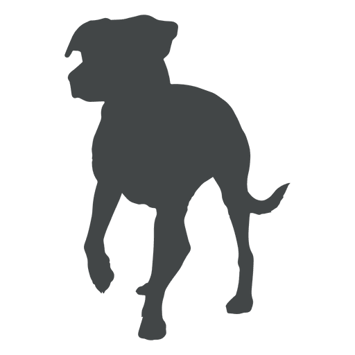 512x512 Dog Silhouettes Collection