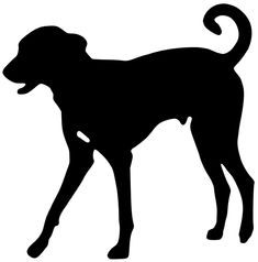 235x238 Great Dane Silhouette Dog Gone It! Silhouettes