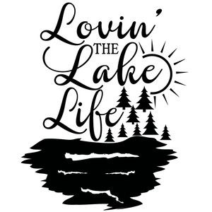 300x300 Lovin' The Lake Life Lake Life, Silhouette Design And Silhouettes
