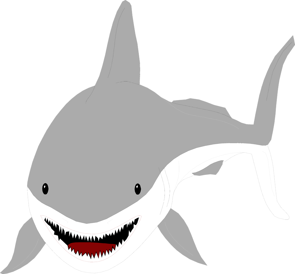 great white shark silhouette at getdrawings com free for personal rh getdrawings com Shark Clip Art Shark Tank Clip Art