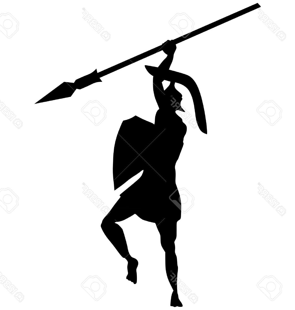 1235x1300 Top 10 Silhouette Of Ancient Greek Warrior On White Stock Vector