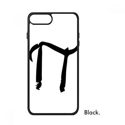425x425 Greek Alphabet Pi Black Silhouette For Iphone 88 Plus