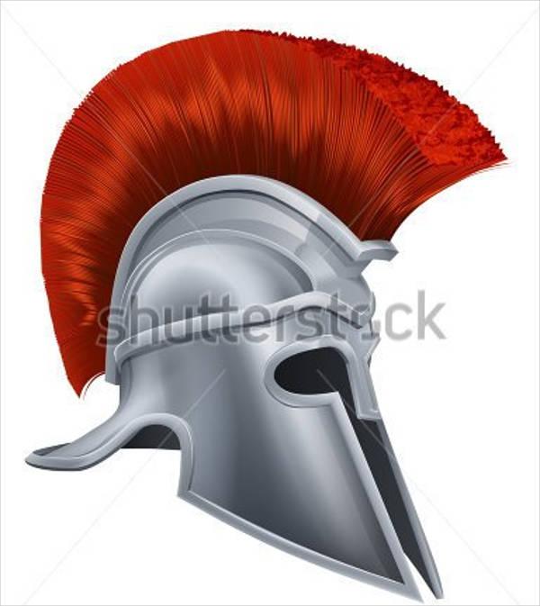 600x673 25 Images Of Greek Helmet Template