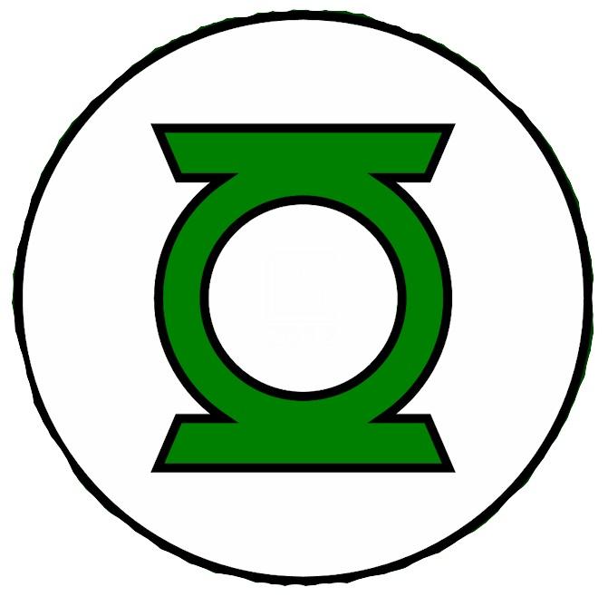 Green Lantern Silhouette