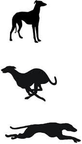 170x297 Greyhound Templates Greyhound Silhouette Vector Clip Art
