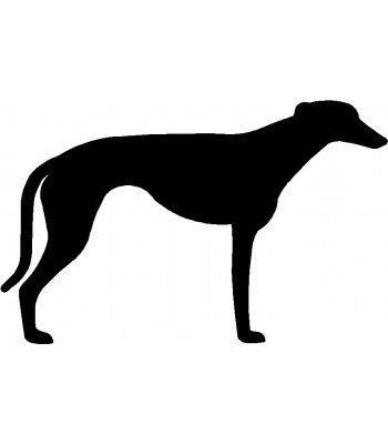 350x400 Dog Welcome Sign Breed Greyhound