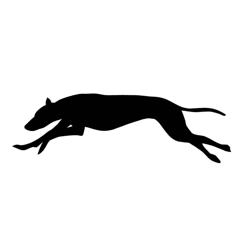 1240x1240 Greyhound Silhouette Clipart