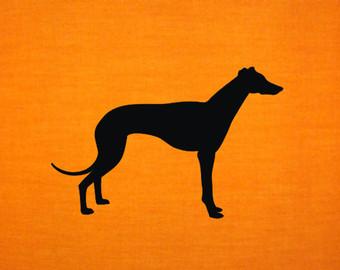 340x270 Greyhound Silhouette Etsy
