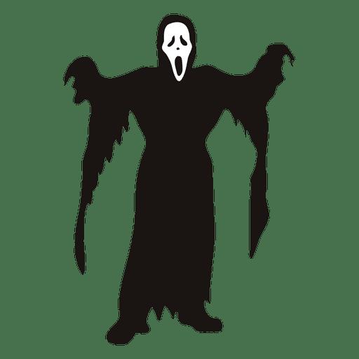 Grim Reaper Silhouette at GetDrawings | Free download