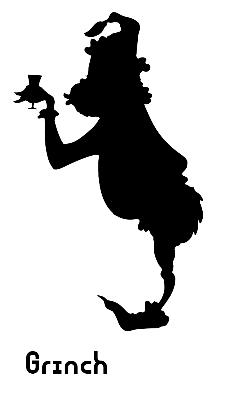 790x1360 Grinch Silhouette Vinyl Cut Files Amp Projects