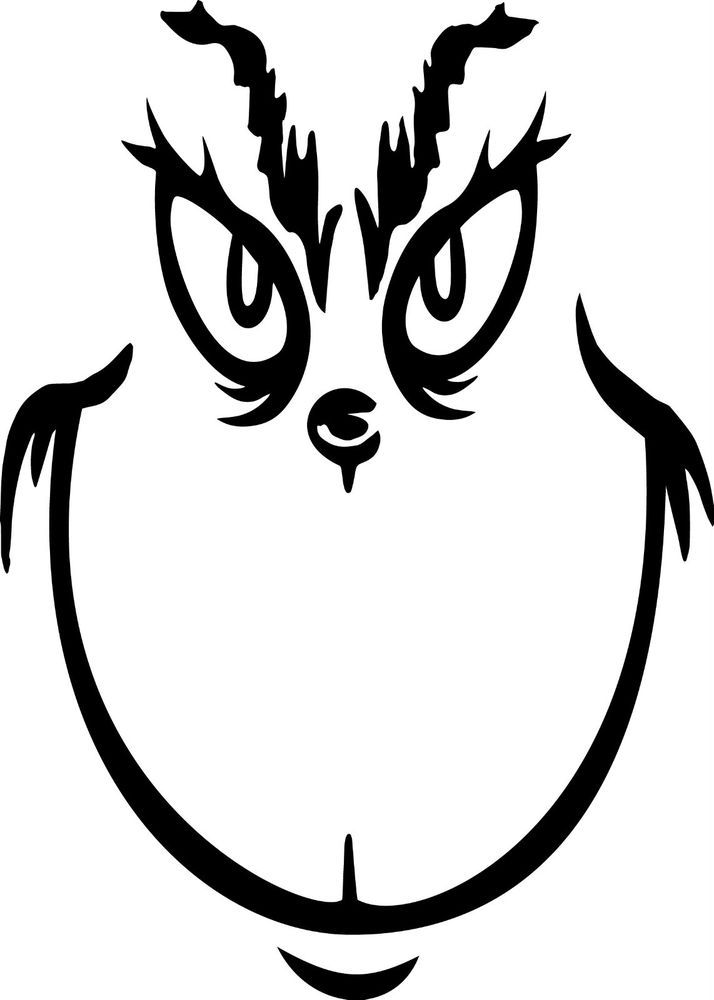 714x1000 Image Result For Printable Grinch Face Template Classroom