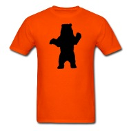 190x190 Standing Bear, Grizzly Bear Silhouette By Azza1070 Spreadshirt