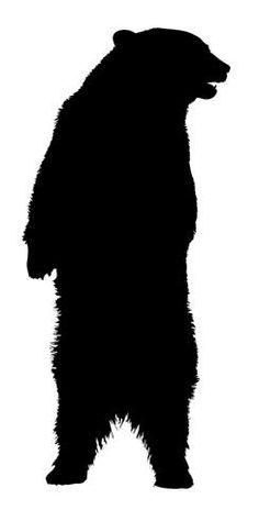 236x464 Bear Silhouette Grizzly Bear Clipart Panda