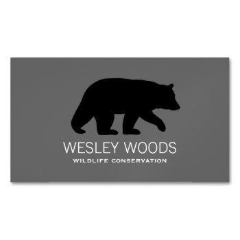 350x350 Black Bear Business Cards Business Cards 100