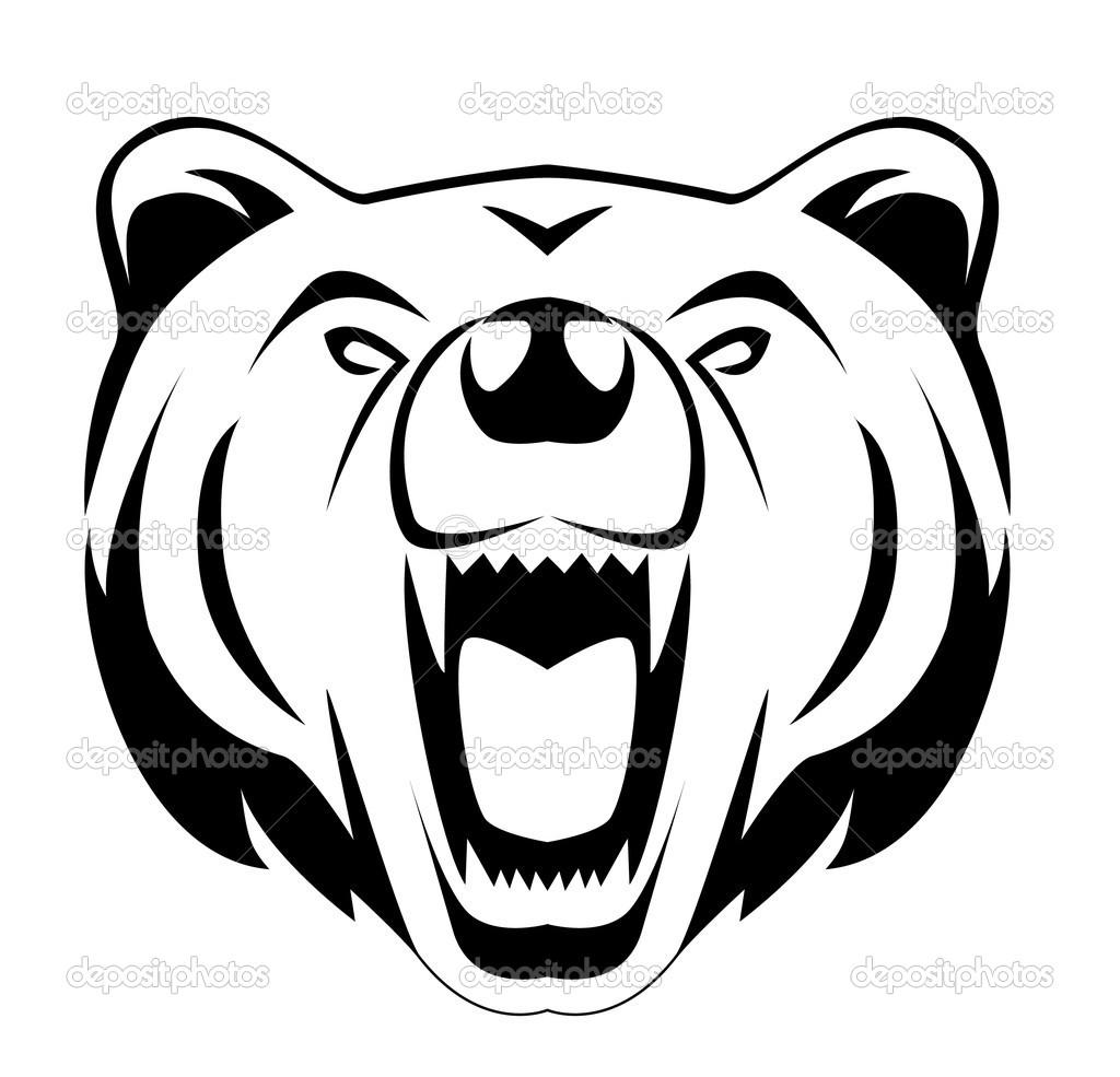 1024x985 Grizzly Bear Head Clip Art