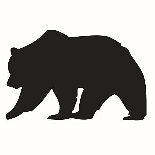 500x500 Bear Silhouette