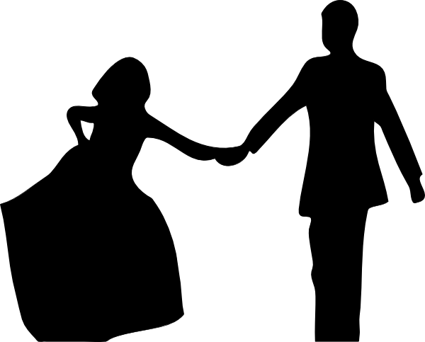 Groom Silhouette Clip Art