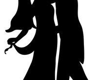 209x165 Wondrous Bride And Groom Silhouette Free Clip Art Wedding