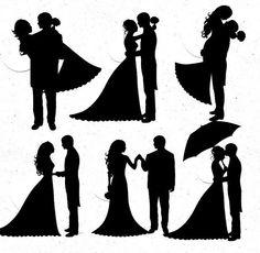 236x230 Bridesmaids Dress Silhouette Svg Files Newlywed Silhouette