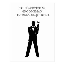 260x260 Groomsmen Postcards Zazzle Uk