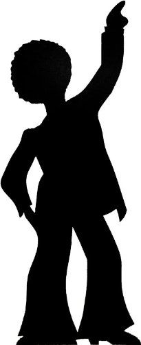 205x500 Party Silhouette Transparent Clipart