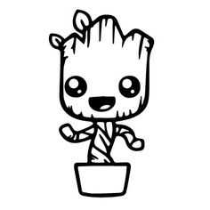 236x236 Image Result For Baby Groot Clip Art Silhouette Stuff