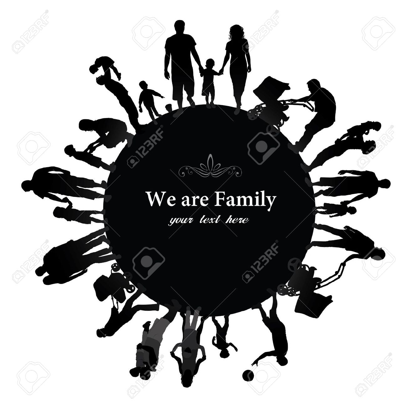 1300x1300 Group Family Clipart