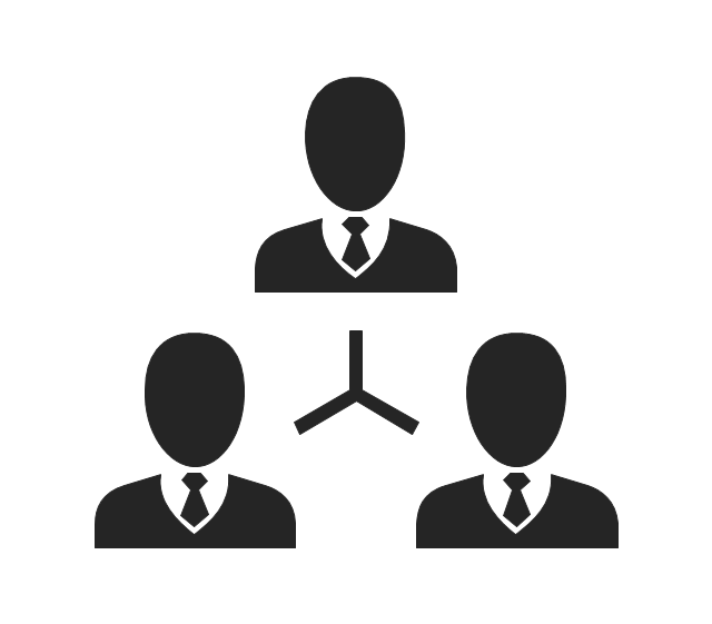 640x561 Business People Pictograms