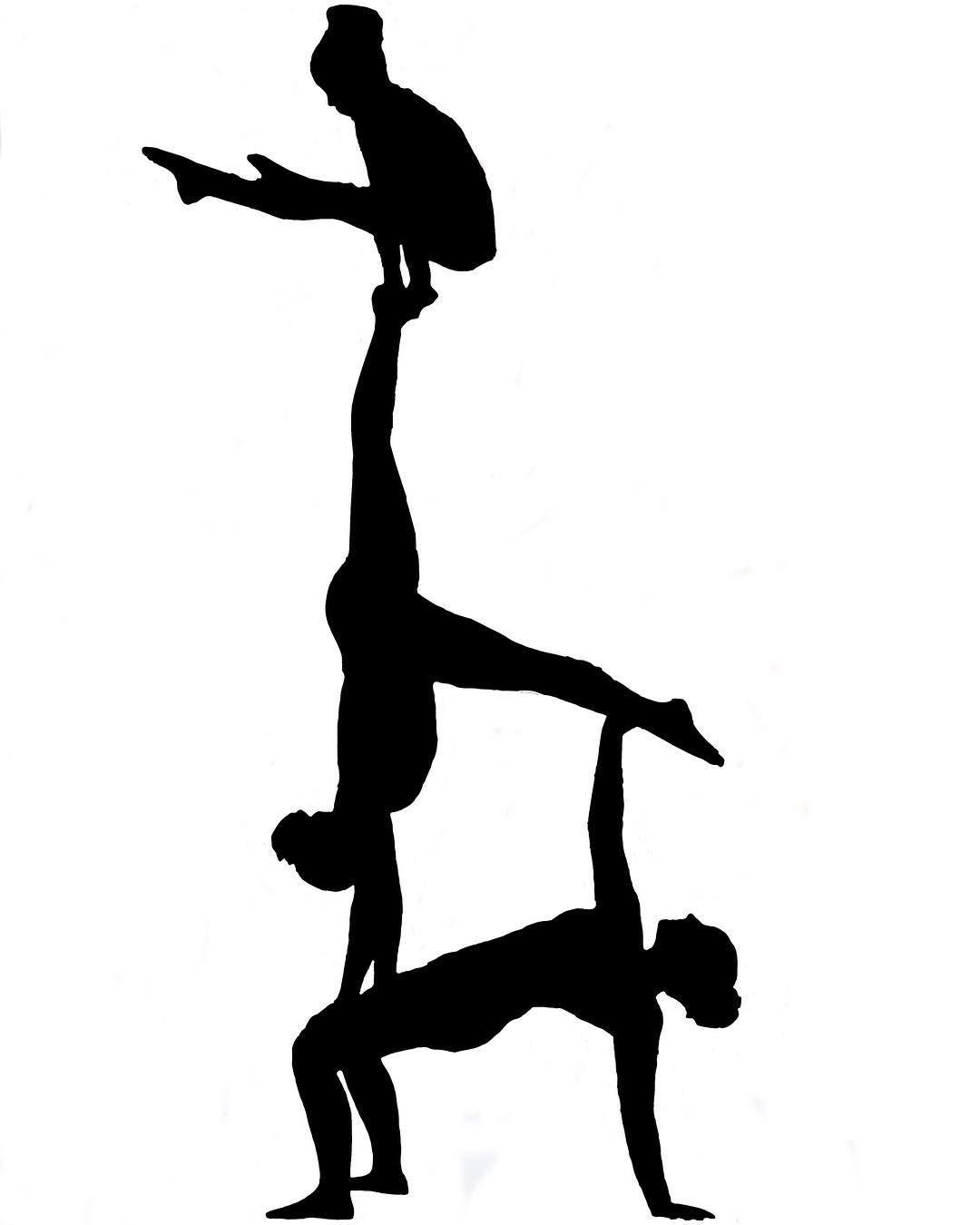 1080x1350 Silhouette Acrobatic Gymnastics