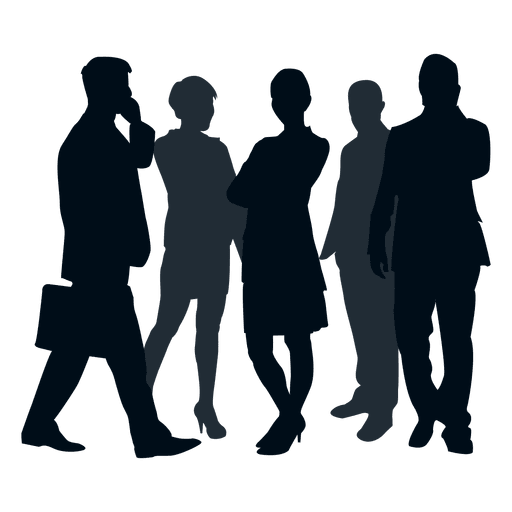 512x512 Business Team Group Silhouette