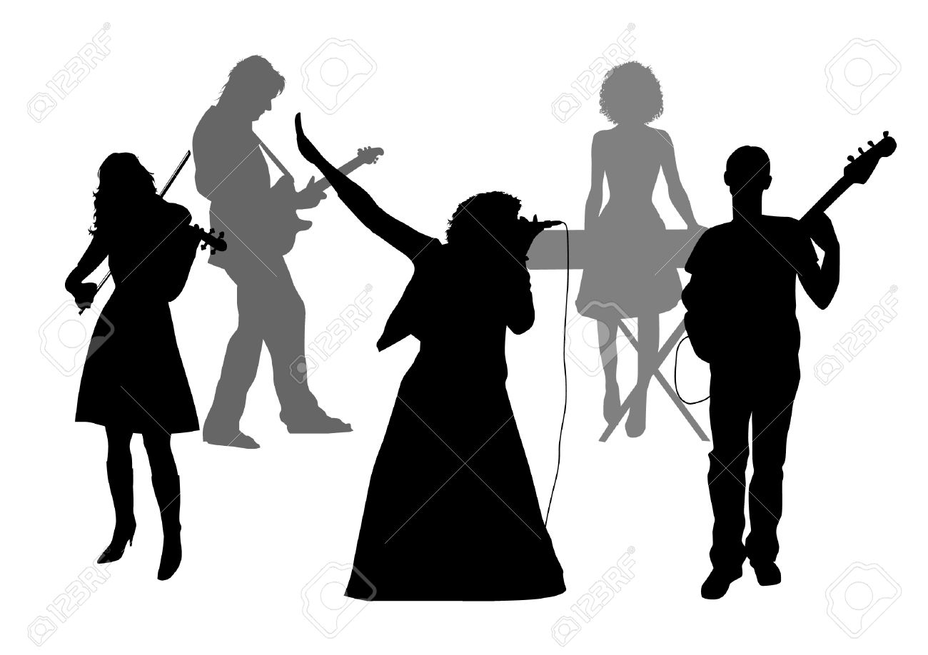 1300x918 Music Group Clipart