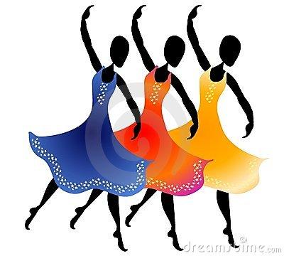 400x360 Dancing Clipart Group Dancing