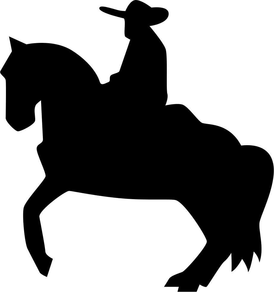 920x981 Man Riding On A Horse Silhouette Of Flamenco Svg Png Icon Free