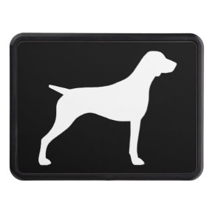 307x307 German Shorthaired Pointer Trailer Hitch Covers