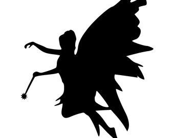 340x270 Angel Silhouette Etsy