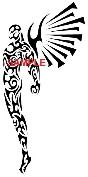 300x604 Male Guardian Angel Clipart Collection