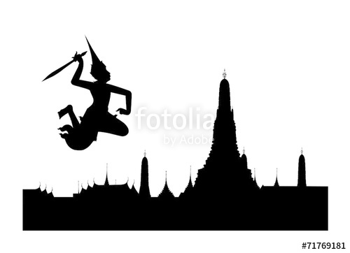 500x362 Pagoda And Guardian Angel Stock Image And Royalty Free Vector